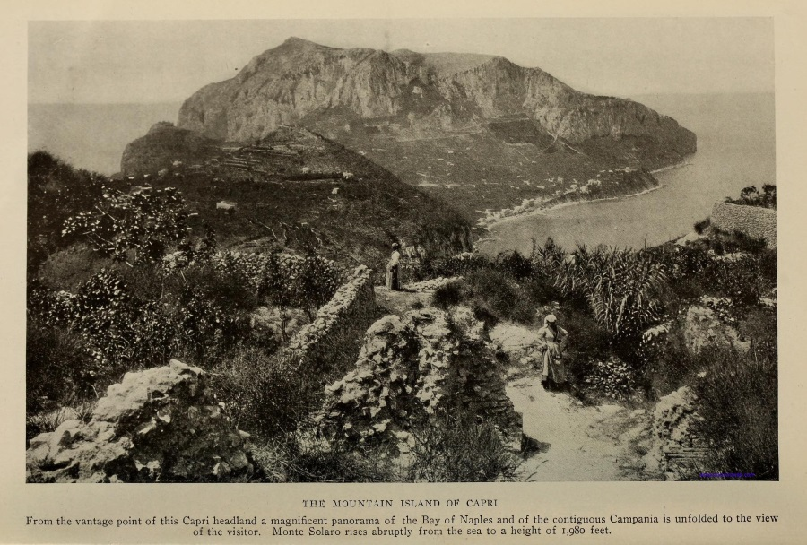 Capri 1888 dal National Geographic Magazine