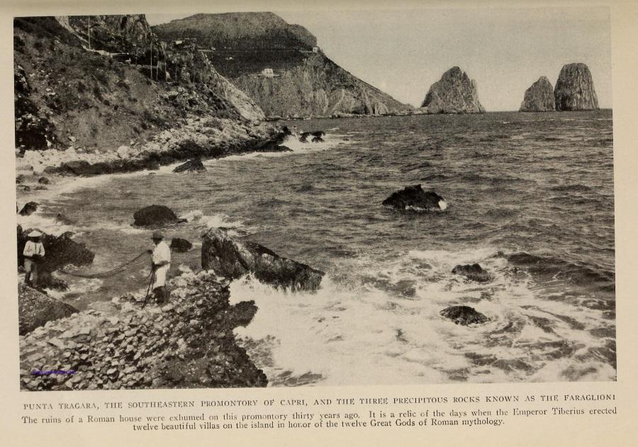 02 The National Geographic Magazine 1888 - Capri panorama della Marina Piccola, Faraglioni - vesuvioweb 2016