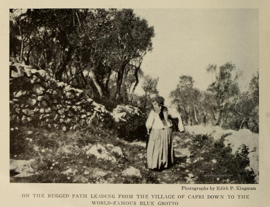 05 The National Geographic Magazine 1888 - Capri scena di campagna tra gli ulivi - vesuvioweb 2016