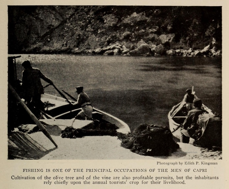08 The National Geographic Magazine 1888 - Capri, i pescatori alla Marina Piccola - vesuvioweb 2016