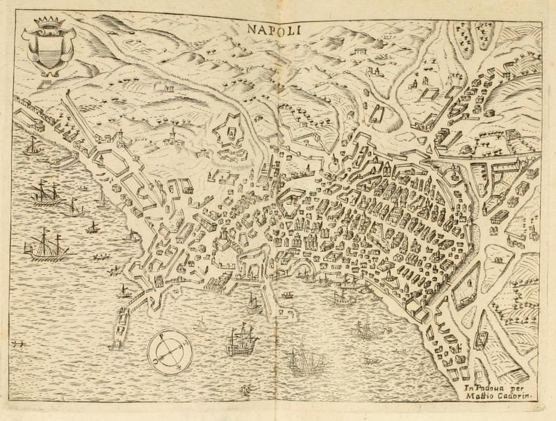 1 Planimetria di Napoli di Francesco Scoto 1669 - vesuvioweb 2014