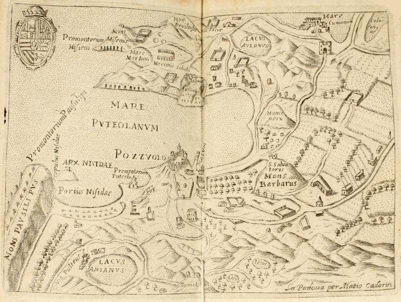 1 Planimetria di Pozzuoli di Francesco Scoto 1669 - vesuvioweb 2014