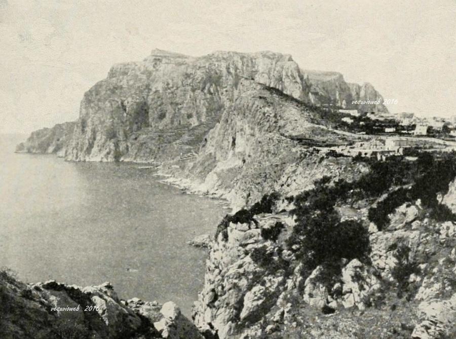 10 Capri a Tragara con Certosa di San Giacomo e Monte Solaro - John L Stoddard's lectures 1909 - vesuvioweb 2016