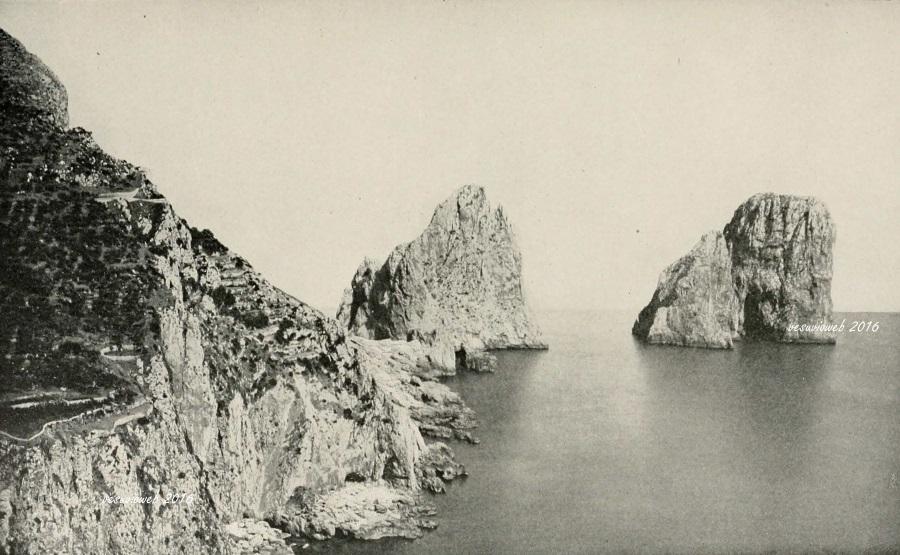 12 Capri i Faraglioni - John L Stoddard's lectures 1909 - vesuvioweb 2016