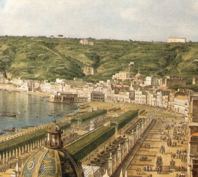 12 San Leonardo D'Orio - 1765 Napoli Giovanni Battista Lusieri