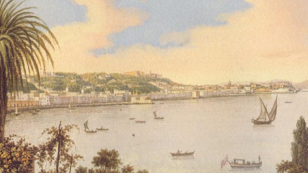 13c 13a  San Leonardo D'Orio - Duca di Noja 1776 Emilio Fabris Campi Phlegraei Hamilton 1776