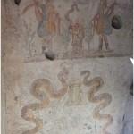 16 Casa pompeiana - Larario - Casa del Re di Prussia- vesuvioweb4