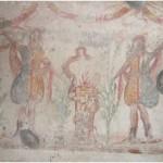17 Casa pompeiana - Larario - Casa del Re di Prussia- vesuvioweb5