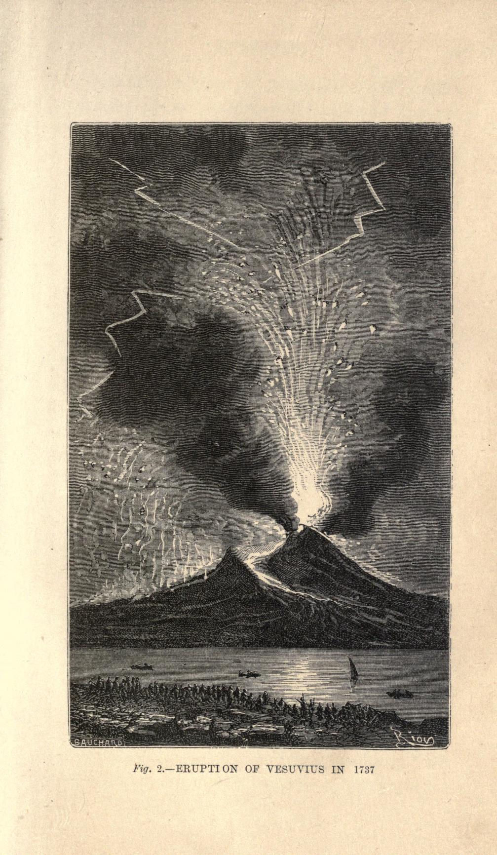 1737 Volcanoes and earthquakes (1868)