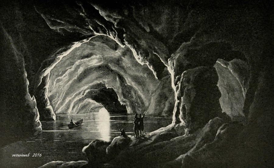 4 Capri la grotta azzurra - John L Stoddard's lectures 1909 - vesuvioweb