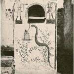 51 Casa pompeiana - Larario - Casa del Fabbro o di Marcus Volusius Iuvencus and the Equitiai - vesuvioweb2