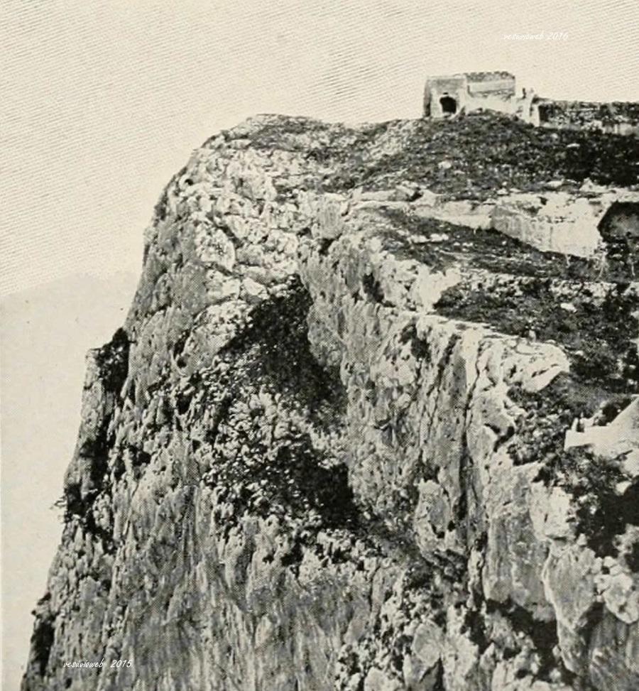 6 Capri la villa ed il Salto di Tiberio - John L Stoddard's lectures 1909 - vesuvioweb 2016