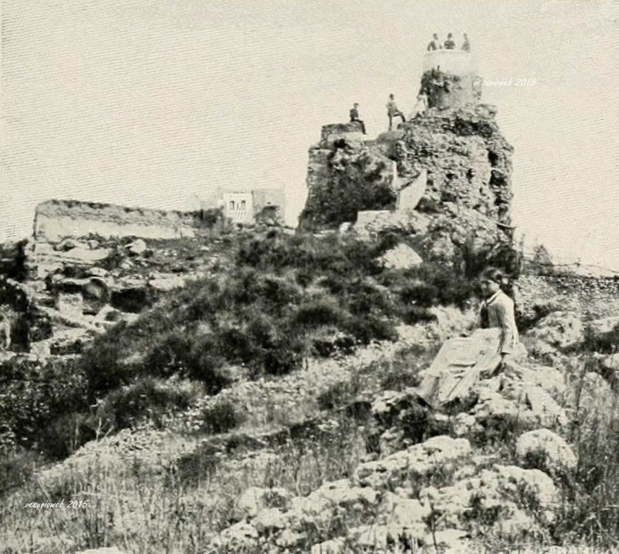 7 Capri la villa di Tiberio - John L Stoddard's lectures 1909 - vesuvioweb 2016
