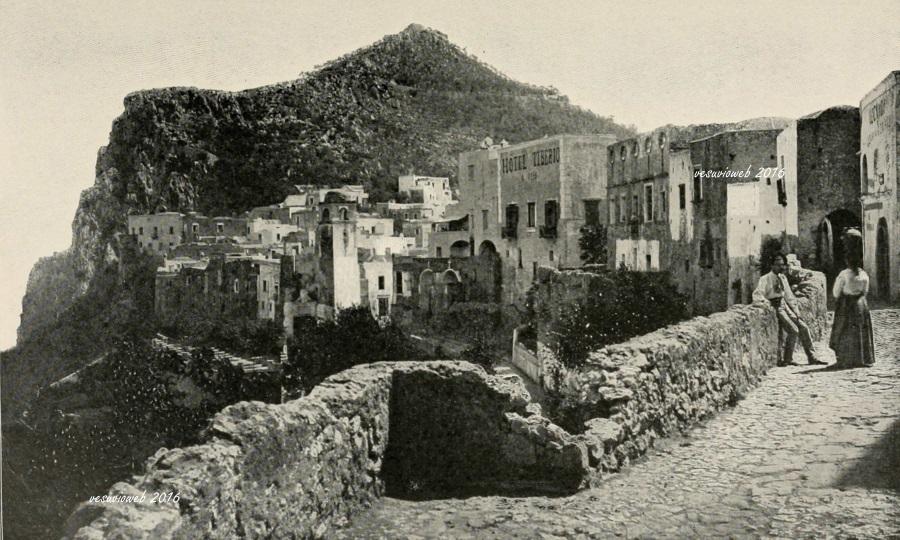 8 Capri Hotel Tiberiio e Santissimo Salvatore - John L Stoddard's lectures 1909 - vesuvioweb 2016