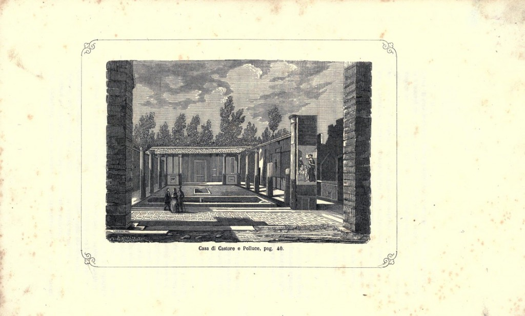 9 Pompei descritta ed illustrata - Gaetano Nobile 1863 - Archivio vesuvioweb 2015
