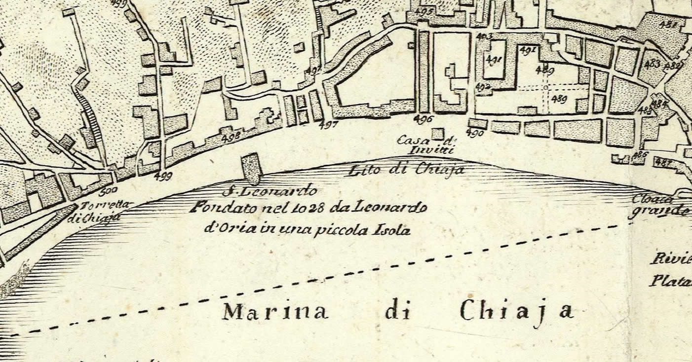 9 San Leonardo D'Orio Napoli 1740