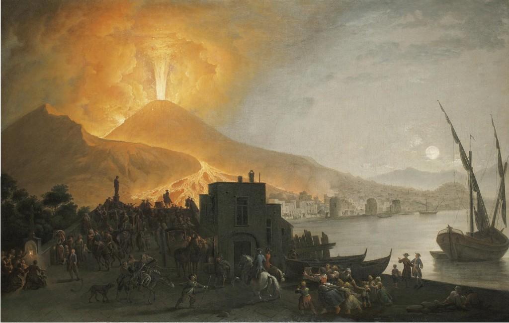FABRIS PIETRO ERUZIONE DEL 1767 PONTE MADDALENA
