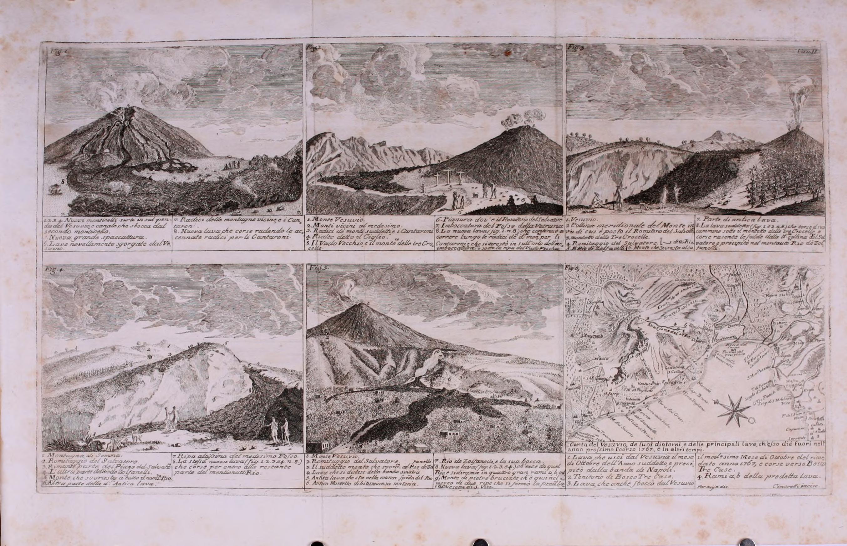 Gaetano De Bottis - Gaetao De Bottis - Ragionamento istorico dell'incendio del Vesuvio accaduto nel mese di Ottobre del MDCCLXVII - vesuvioweb 2016a