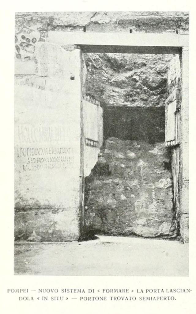 Pompei 1913 - Immagini tratte da Emporium di quell'anno. Ricerca e archivio Vesuvioweb