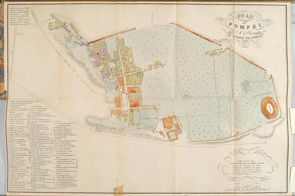 Pompei - Andrea di Jorio Canonico 1839 - 1
