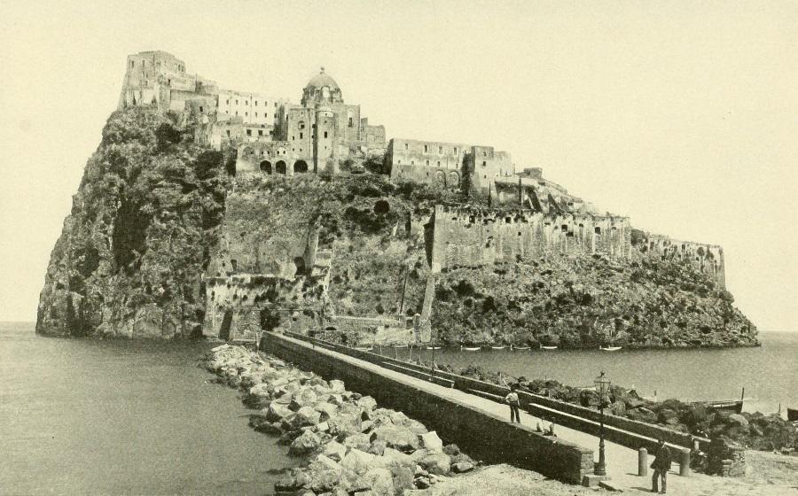 Vesuvio da Le Naturaliste del 1908 - vesuvioweb 2016 - Il Castello Aragonese a Ischia