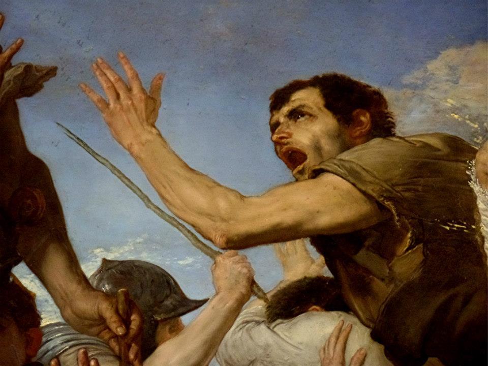 Giuseppe de Ribera detto Lo Spagnoletto. Napoli, il Duomo, Cappella di San Gennaro. Foto di Erardi Marcello