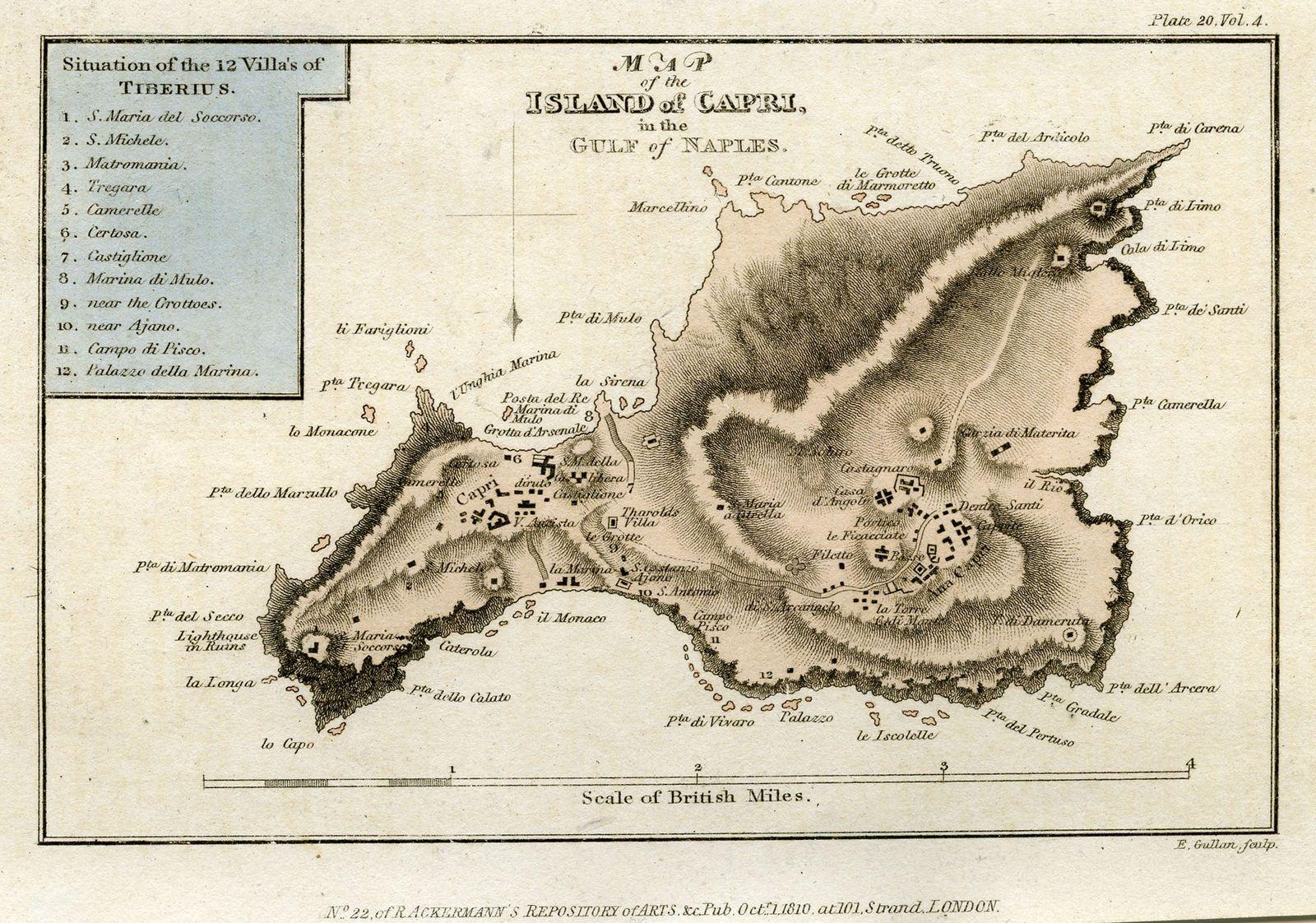 icona Capri Antique 1810