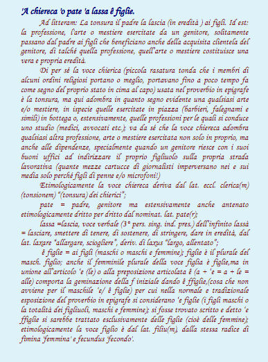 Auguri Di Natale Napoletano.Raffaele Bracale Modi Di Dire Della Lingua Napoletana