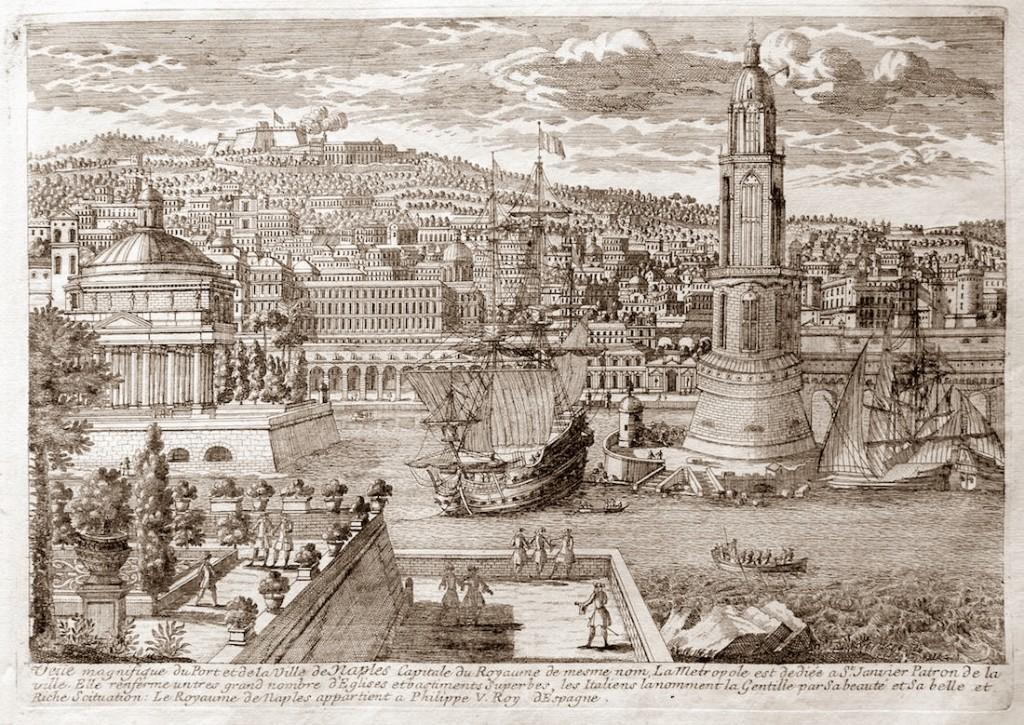 napoli 1700 circa sotto il regno di Filippo V di Spagna - La Metropole - vesuvioweb 2015