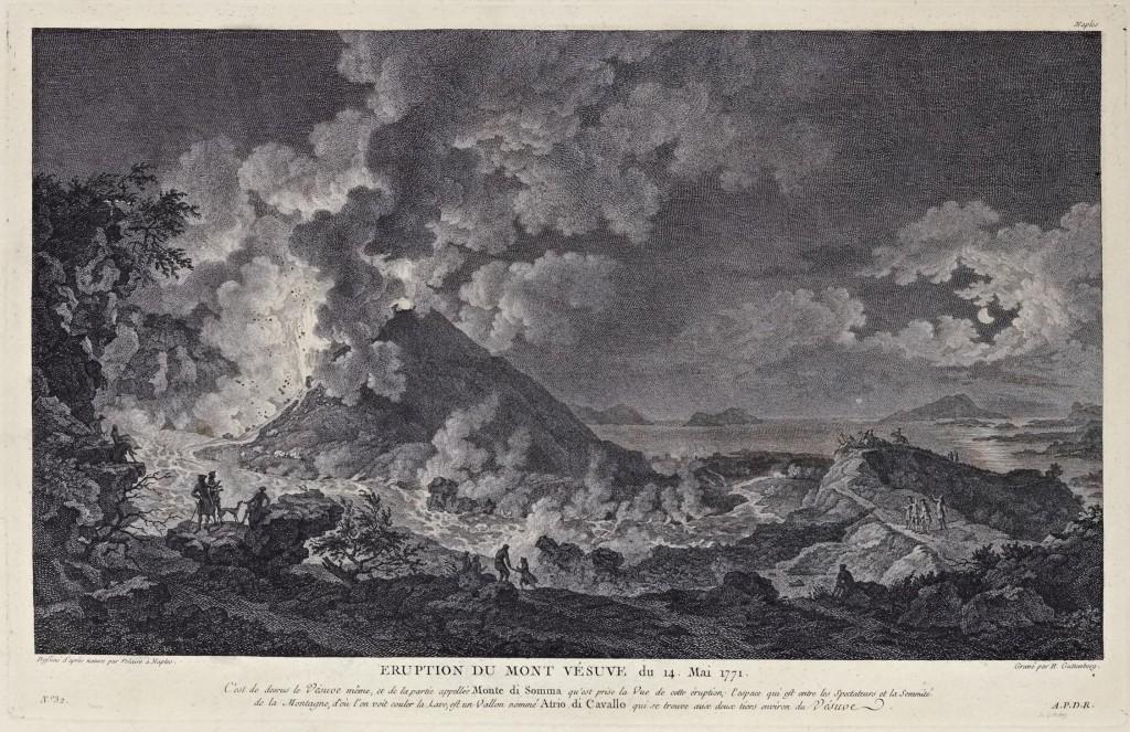 vesuvio 1771 dal voyage pittoresque